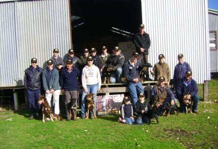 South Australian Yard Dogs - Dog Handlers Training Day at The Washpool, Avenue Range