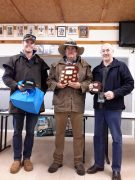 1. Presentation to Gary White on winning the 2016 SAYDA State Utility Championship at Melrose with his dog Broken River Becky 2